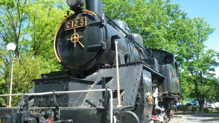 韮崎中央公園 蒸気機関車 C12