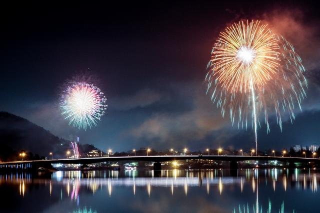 山梨夏の花火・夏祭りの日程2018