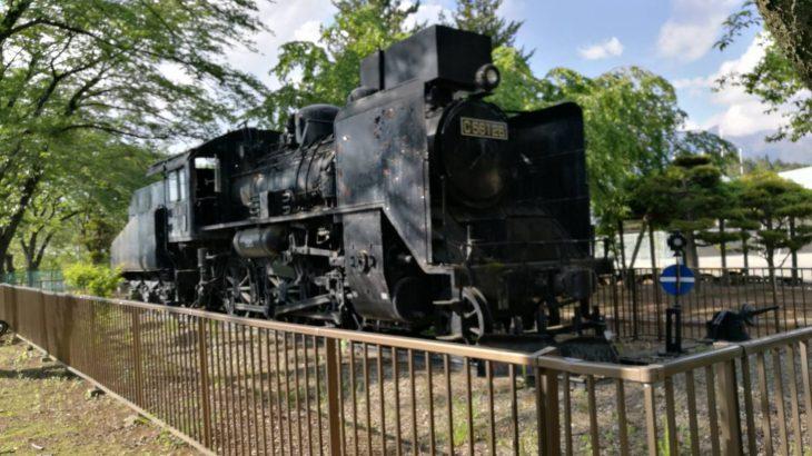 小淵沢小学校 SL 蒸気機関車