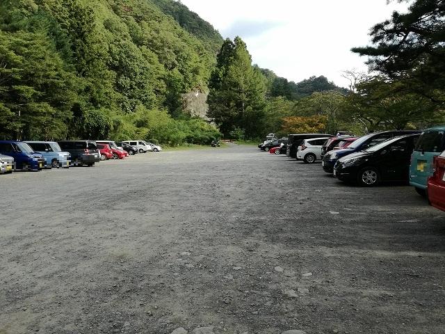 昇仙峡無料駐車場