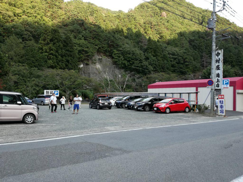 昇仙峡 無料 駐車場