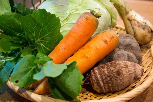 山梨の地場野菜・伝統野菜を食べよう♪1m越えニンジンや幻の大豆、天空かぼちゃって何!?