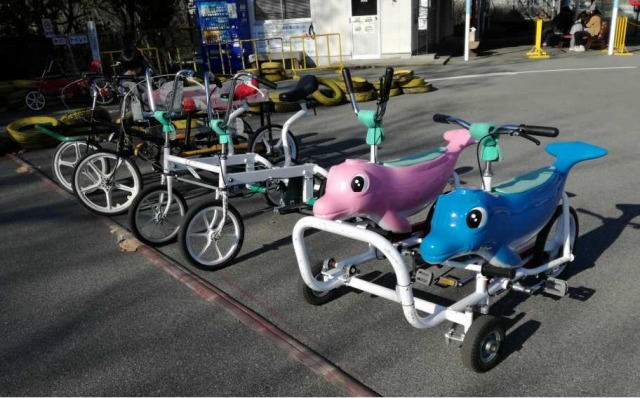 愛宕山 こどもの国 自転車