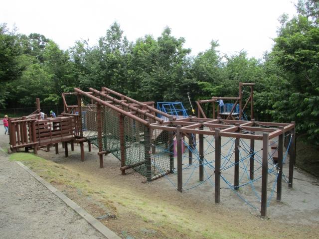 桂川ウェルネスセンターの遊具