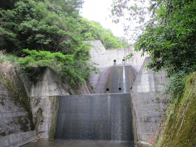 身延町 化石 砂防ダム