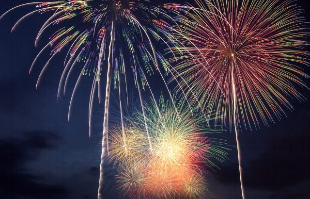 神明の花火大会のイメージ