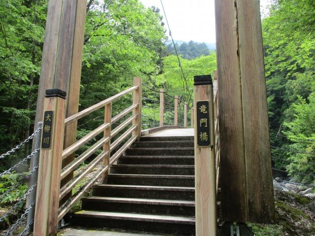 大柳川渓谷 ハイキング 富士川町
