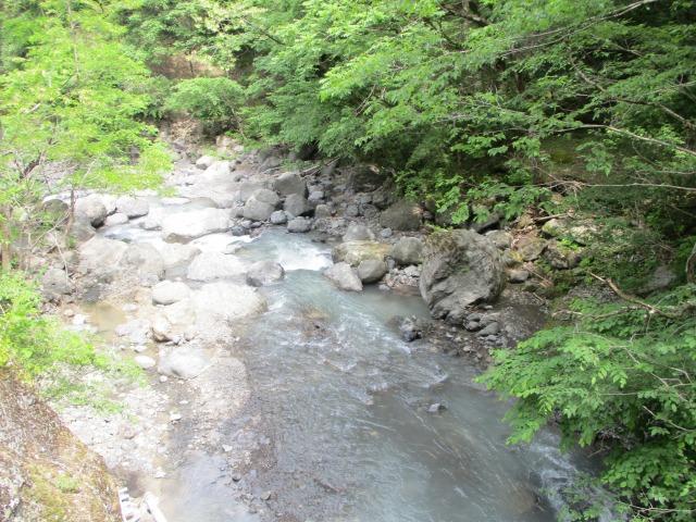 富士川町 渓流