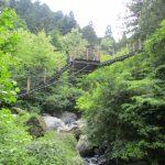 【大柳川渓谷】つり橋・滝めぐりトレッキングで絶景を見に行こう!混浴秘湯もありました♪