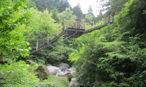 ハイキング 富士川町 大柳川渓谷