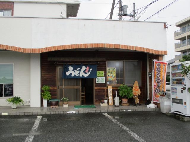 笛吹市にある吉田のうどん富士の外観