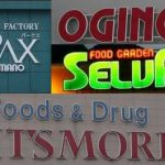 山梨県内のスーパー4つのロゴ