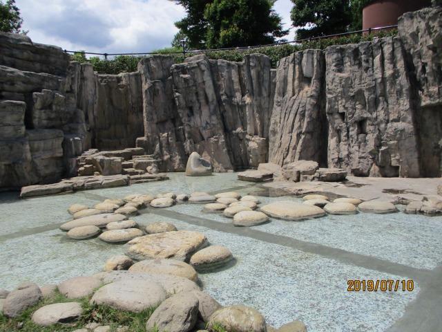 フルーツ公園の水遊び場