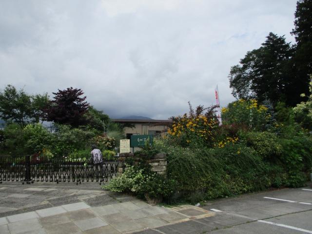 道の駅はくしゅうにある植木売り場