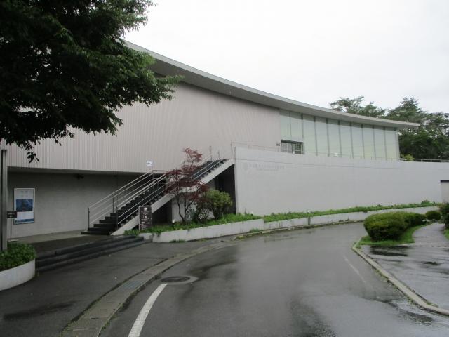 平山郁夫シルクロード美術館の外観