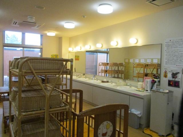 パノラマの湯の更衣室