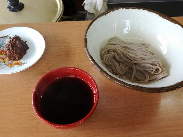 おしの製麺の試食
