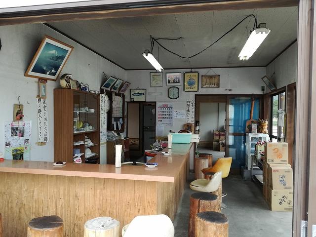 おしの製麺の店舗内の様子