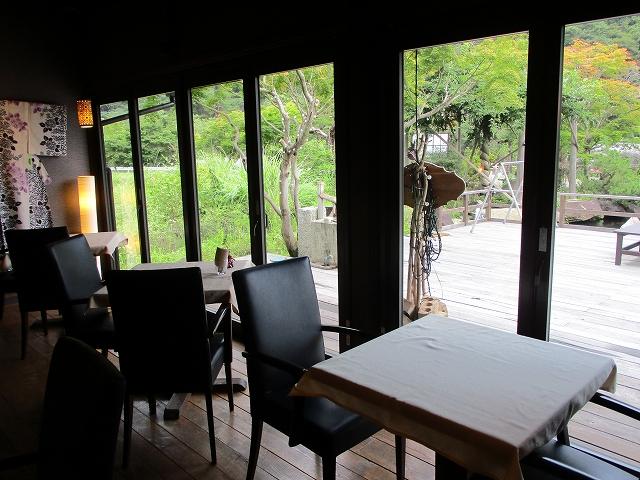 昇仙峡のカフェテロワール店内の様子