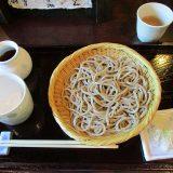 山梨小淵沢でランチ【長坂の蕎麦・翁】並んでも食べたい人気店を紹介!小さな子連れはOK?