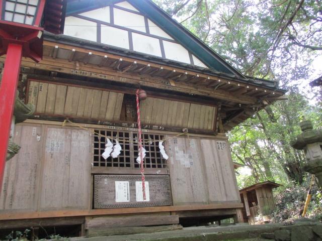 下部温泉の熊野神社