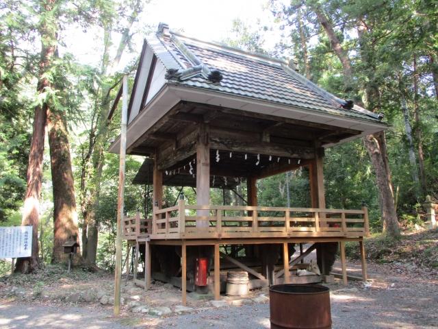 下部温泉にある熊野神社