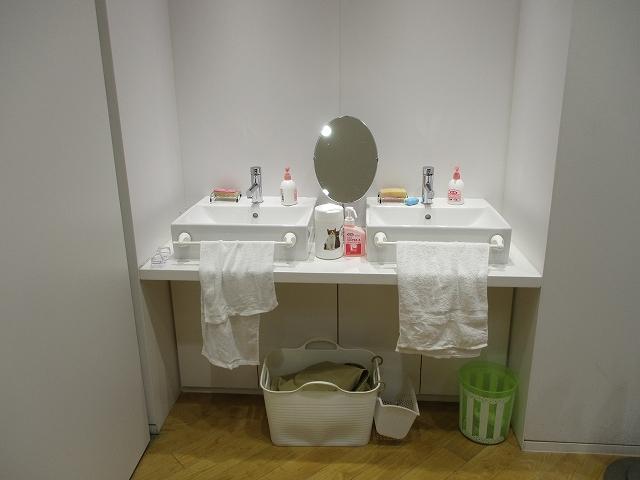 体験工房の手を洗う場所