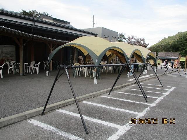 道の駅こすげのサイクルスタンド