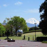 山梨県立美術館の公園