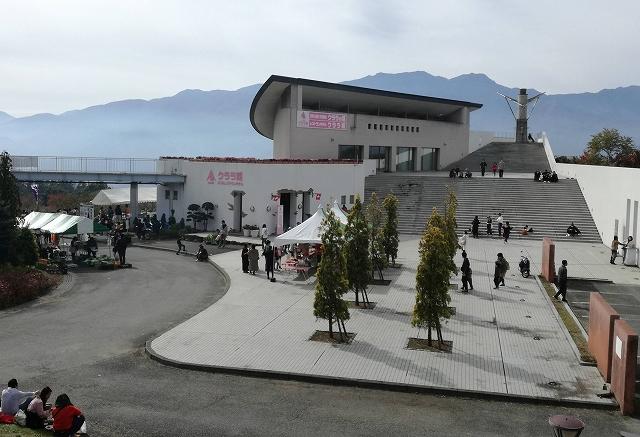 浅尾ダイコン祭りの会場はハイジの村クララ館