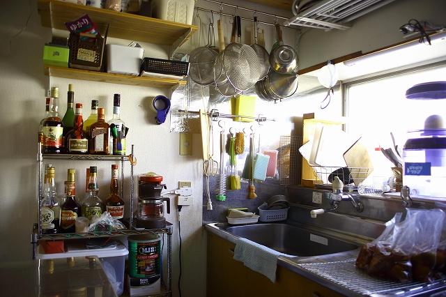 ベリーファームAのコンフィチュールが作られるキッチン