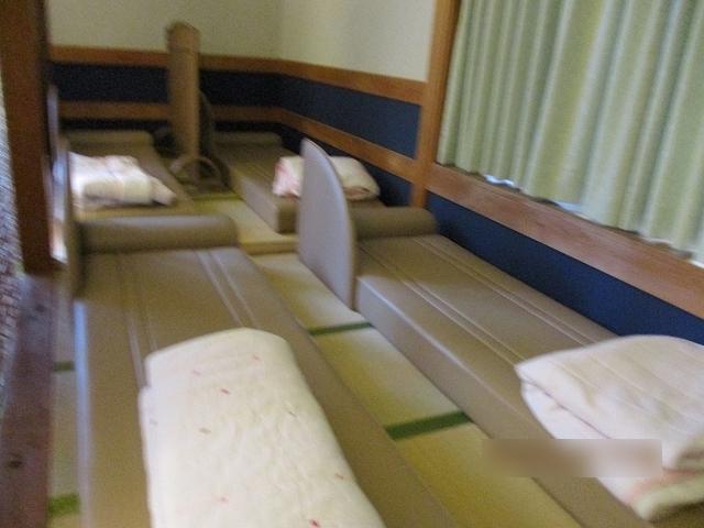小菅の湯 ゆっくり寝る場所がある