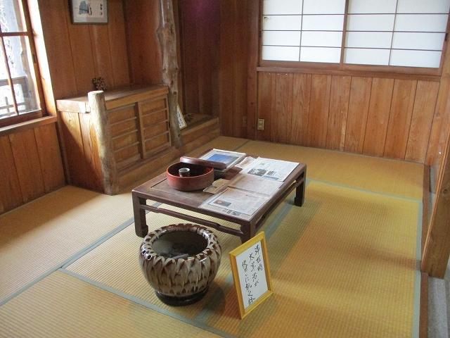 太宰治記念館の資料室