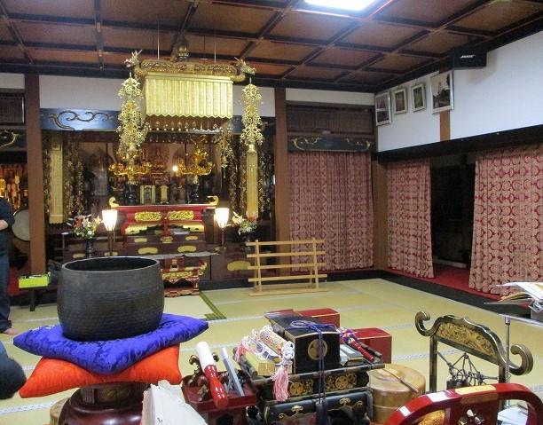 覚林坊の本堂